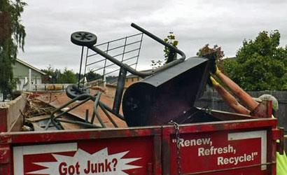 Let us haul away your junk and debris.